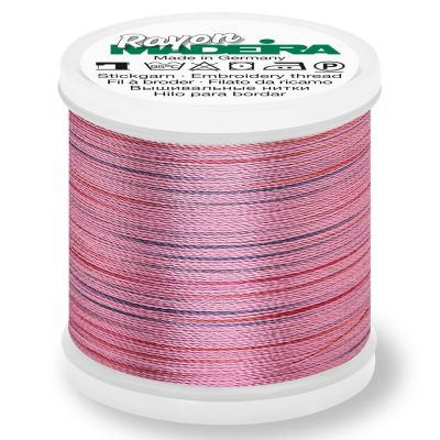 Madeira Rayon No 40 Machine Embroidery Thread 200m Reel - Potpourri Colour 2305
