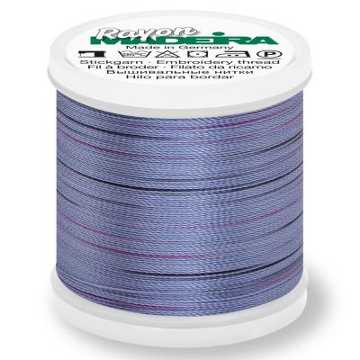 Madeira Rayon No 40 Machine Embroidery Thread 200m Reel - Potpourri Colour 2307