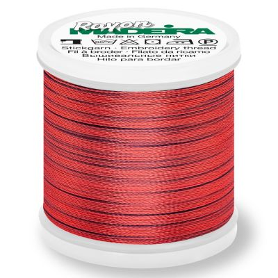 Madeira Rayon No 40 Machine Embroidery Thread 200m Reel - Potpourri Colour 2309