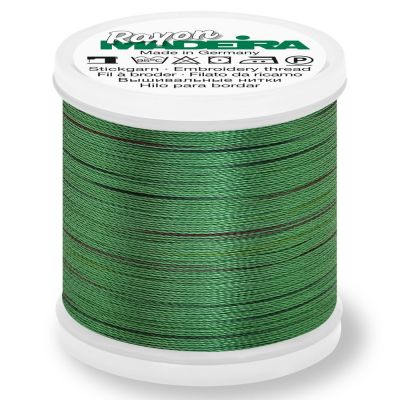 Madeira Rayon No 40 Machine Embroidery Thread 200m Reel - Potpourri Colour 2310