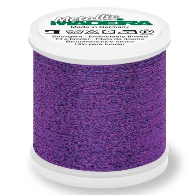 Madeira Metallic Sparkling Sewing And Embroidery Thread 200m - Colour 12 Amethyst