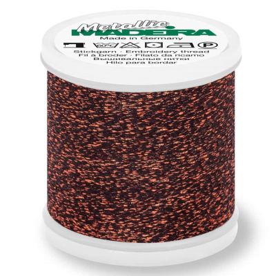Madeira Metallic Sparkling Sewing And Embroidery Thread 200m - Colour 29 Copper