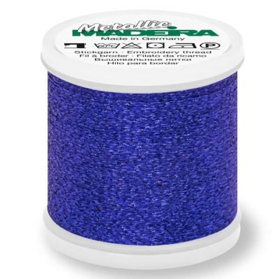 Madeira Metallic Sparkling Sewing And Embroidery Thread 200m - Colour 38 Sapphire