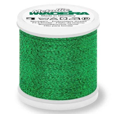 Madeira Metallic Sparkling Sewing And Embroidery Thread 200m - Colour 57 Emerald