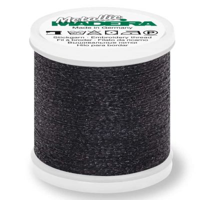 Madeira Metallic Sparkling Sewing And Embroidery Thread 200m - Colour 70 Graphite