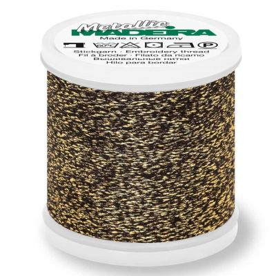 Madeira Metallic Sparkling Sewing And Embroidery Thread 200m - Colour 251 Antique Gold
