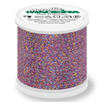 Madeira Metallic Sparkling Sewing And Embroidery Thread 200m - Colour 275 Flower Bird