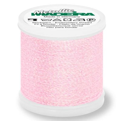 Madeira Metallic Sparkling Sewing And Embroidery Thread 200m - Colour 302 Rose Quartz