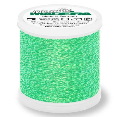 Madeira Metallic Sparkling Sewing And Embroidery Thread 200m - Colour 305 Lime
