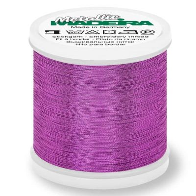 Madeira Metallic Smooth Sewing And Embroidery Thread 200m - Colour 311 Amethyst