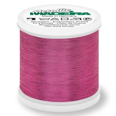 Madeira Metallic Smooth Sewing And Embroidery Thread 200m - Colour 313 Rose Quartz