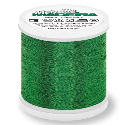 Madeira Metallic Smooth Sewing And Embroidery Thread 200m - Colour 358 Emerald