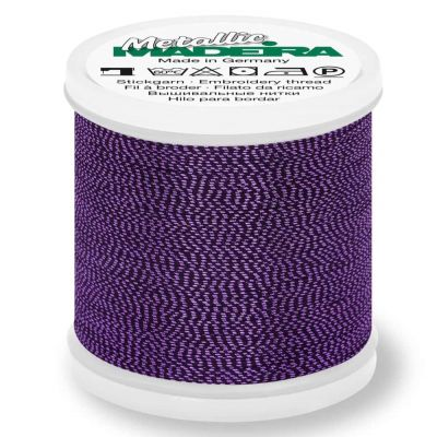 Madeira Metallic Soft Sewing And Embroidery Thread 200m - Colour 412 Tanzanite