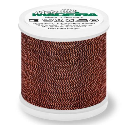 Madeira Metallic Soft Sewing And Embroidery Thread 200m - Colour 428 Copper