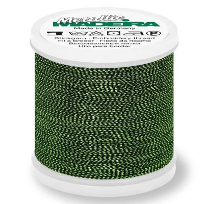 Madeira Metallic Soft Sewing And Embroidery Thread 200m - Colour 452 Malachite