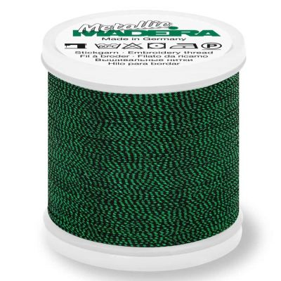 Madeira Metallic Soft Sewing And Embroidery Thread 200m - Colour 457 Emerald