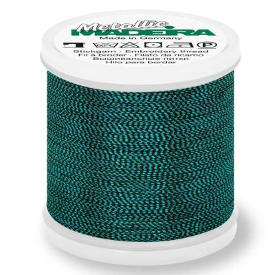 Madeira Metallic Soft Sewing And Embroidery Thread 200m - Colour 465 Turquoise