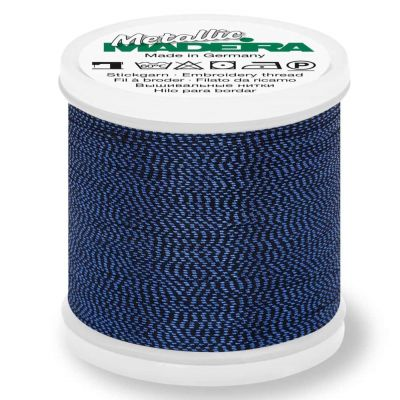 Madeira Metallic Soft Sewing And Embroidery Thread 200m - Colour 467 Lapis