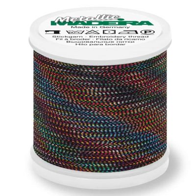 Madeira Metallic Soft Sewing And Embroidery Thread 200m - Colour 481 Peacock