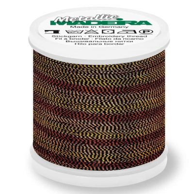 Madeira Metallic Soft Sewing And Embroidery Thread 200m - Colour 482 Tiger Eye