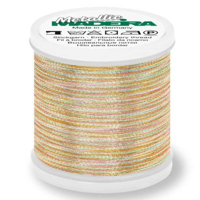 Remnant -Madeira Metallic Brilliant Sewing And Embroidery Thread 200m - Astro 1- 9842-Missing label