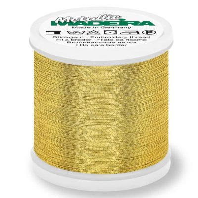 Madeira Metallic Brilliant Sewing And Embroidery Thread 200m - Gold 4 Colour