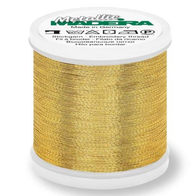 Madeira Metallic Brilliant Sewing And Embroidery Thread 200m - Gold 7 Colour