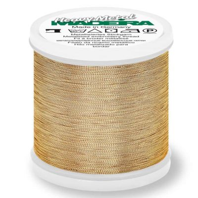 Madeira Metallic Heavy Metal Sewing And Embroidery Thread 200m - Colour 6022 Rose Gold