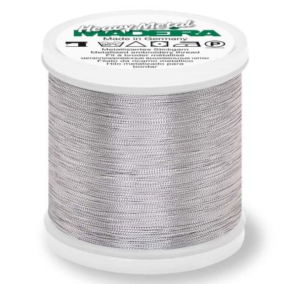 Madeira Metallic Heavy Metal Sewing And Embroidery Thread 200m - Colour 6031 Aluminium