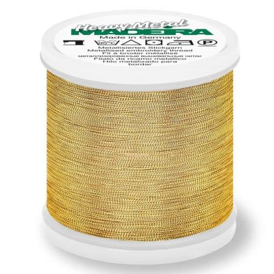 Madeira Metallic Heavy Metal Sewing And Embroidery Thread 200m - Colour 6032 Gold 32