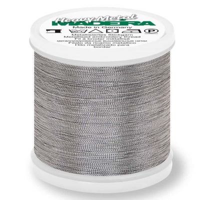 Madeira Metallic Heavy Metal Sewing And Embroidery Thread 200m - Colour 6044 Pewter