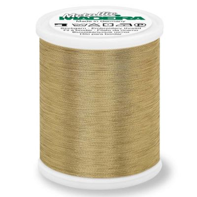 Madeira Metallic Smooth Sewing And Embroidery Thread 1000m - Colour 304 Gold Nugget
