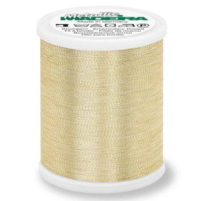 Madeira Metallic Brilliant Sewing And Embroidery Thread 1000m - Gold 3 Colour