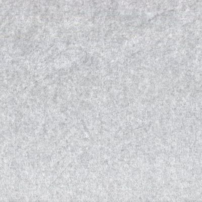 Stretch Cotton Velour Plush Fabric - Limestone Grey