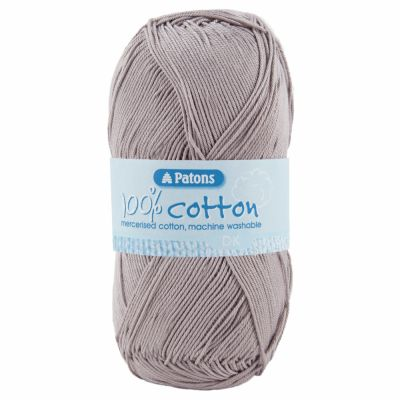 Patons Yarn - 100% Cotton DK 100g Ball - Taupe