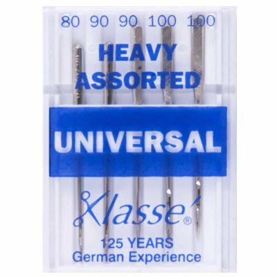 Klasse Machine Needles Heavy Universal Assorted