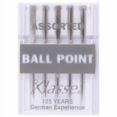 Klasse Machine Needles Ball Point Assorted