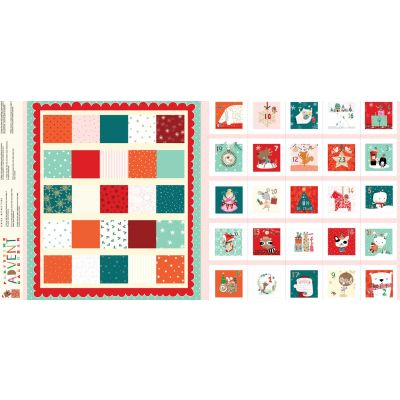 Dashwood Studio - Partytime - Advent Calendar - 60cm Panel - With Option For A Kit