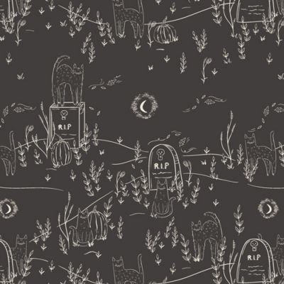 Art Gallery Fabrics - Spooky N Sweet - Purranormal Activity