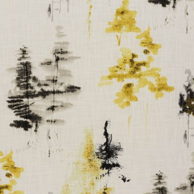 Albero - Ochre - Curtain Fabric