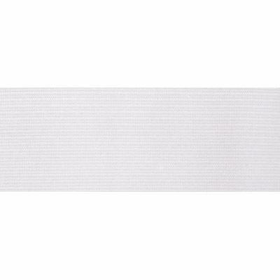 Latex Free Flat Woven Elastic - 25mm Wide - White