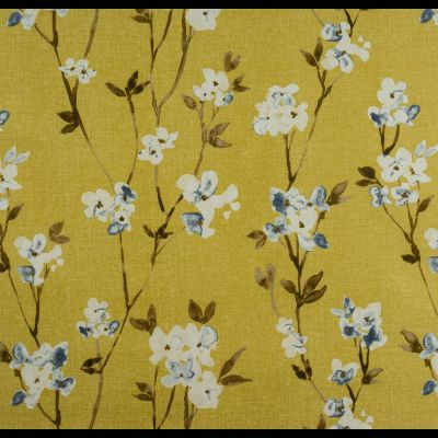 Porter & Stone - Alicia - Honey - Curtain Fabric