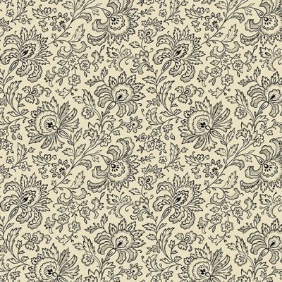 Andover - French Chateau And Bee - Paisley Ebony And Ivory