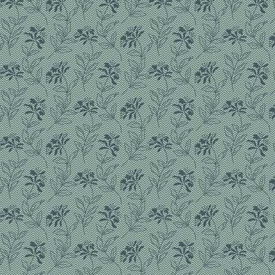 Remnant - Andover - Bed Of Roses - Sage Teal - 48 x 110cm