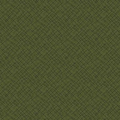 Andover Trinkets 2020 Weave Green Cut Length