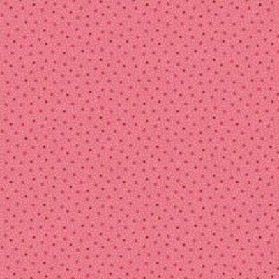 Andover Trinkets 2020 Dotted Square Pink Cut Length