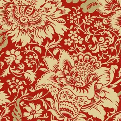 Andover - Jacobean Red - Riviera Rose