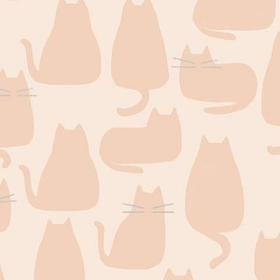 Andover - Whiskers And Dash - Whiskers Pale Pink