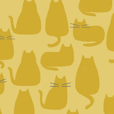 Remnant - Andover - Whiskers And Dash - Whiskers Golden - 33 x 110cm