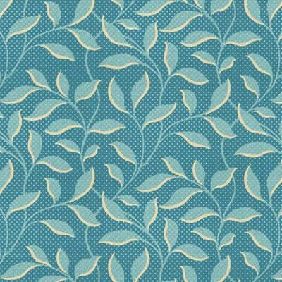 Remnant - Andover - Royal Blue - Morning Glory Light Cerulean - 38 x 11-cm